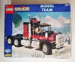 Lego Vintage Model Team 5571 Camion Géant Dans La Boîte Originale, Rare