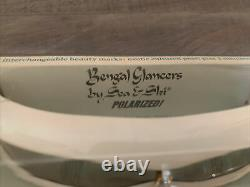 Lunettes De Soleil D'époque Mer & Ski Glaces Bengales Boîte D'origine Rare Dans Les Années 1960
