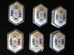 Maitland Smith Table Occasionnelle Table Latérale Vintage - Boîtes En Céramique Super Rare