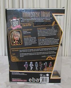 Monster High Cleo De Nile Doll Nouveau Dans La Boîte Réel Doll 2010 Rare