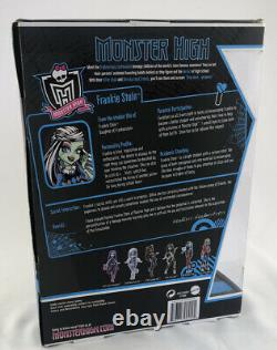 Monster High Frankie Stein Doll 2010 1ère Édition Journal Ordinateur Portable Rare Nouveau Dans La Boîte