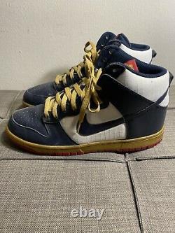 Nike Dunk Haute Jeux Olympiques 2010 344648-141 Taille 10 Pas De Boîte Rare Vintage