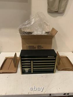 Nouveau Rare Vtg Snap-on 75th Anniversary Edition Mini Micro Tool Box Coffret