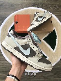 Nouvelle Nike 2003 Dunk Low Pro Clay Glacier Blue Twisted Prep Vintage Sb Rare Box 8