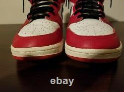 Og Vintage 1985 Nike Air Jordan 1 Chicago Taille 11 Rare Soft Collars Ty1 No Box