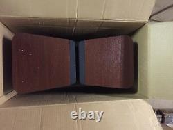 Paire De Modèle D'épicure Vintage 5v 5 Haut-parleurs Étagère Livre Rare Scellé Dans La Boîte
