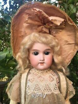 Rare 16 All Original Antique Bébé Cosmopolite Bisque Doll Allemagne Avec Box