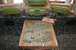 Rare 1930 Era Vintage Lionel Ensemble De Train Avec Boîtes Et Master Box! À Voir