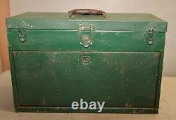 Rare 5 Tiroir Sk Mécanique Machiniste Boîte À Outils Socket Plateau Vintage Collectionnable