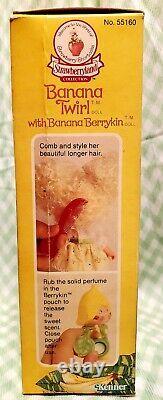 Rare In Box 80's 1985 Shortcake Aux Fraises Banana Twirl Berrykin