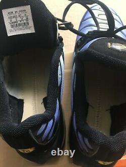 Rare Utilisé Avec Og Box Vintage 2003 Rare Homme Nike Air Max Plus Hyper Blue Sz 10
