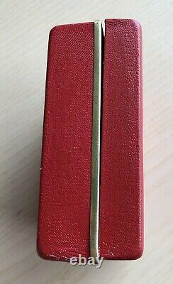 Rare Vintage 1960-70s Rolex Tudor Hard Shield Shield Box 7928 9401 94110 94010
