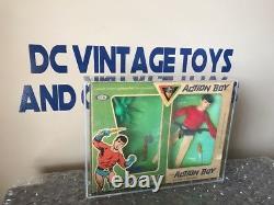 Rare Vintage 1967 Idéal Action Boy Aqualad Capitaine Action Aquaman Boxed Wow