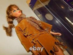 Rare Vintage 1968 Mattel Talking Barbie Doll Stock No 1115 Avec Box