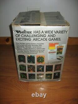 Rare Vintage 1982 Gce Vectrex Home Arcade Console De Jeu Vidéo Box Seulement