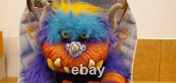 Rare Vintage 1986 My Pet Monster Beastur Peluche Boîte Amtoy