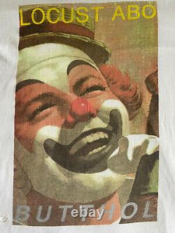 Rare Vintage Années 80 Butthole Surfers Locust Abortion Technician Band T Shirt