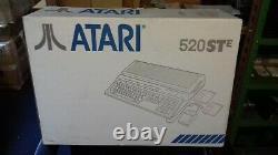 Rare Vintage Atari 520 Ste Computer System (gc Boxed)