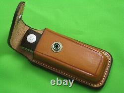 Rare Vintage Colt Barry Wood Tuck-away Folding Hunter Knife U1050, Boîte, Gaine