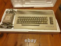 Rare Vintage Commodore 64 John Laws Édition Pack Famille Travailler Dans La Boîte Originale