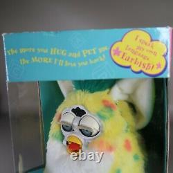 Rare Vintage Confetti Baby 1999 Furby Babies Blue Yeux Nouveau Dans La Boîte Modèle 70-940