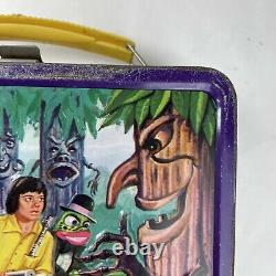 Rare Vintage H. R. Pufnstuf Alladin 1970 Boîte À Déjeuner En Métal Pour Enfants Sid & Marty Krofft
