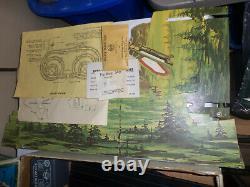 Rare Vintage Marx Le Matterhorn Ho Roadrace Electric Slot Racing Set En Org Box