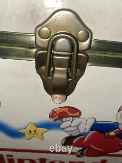 Rare Vintage Nintendo Super Mario Zelda Box Toy Chest Storage Jeux Vidéo