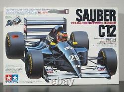 Rare Vintage Nouveau En Open Box Tamiya 1/10 R/c Sauber C12 F-1 Race Car Kit # 58130