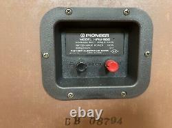 Rare Vintage Pioneer Hpm-900 Stereo Haut-parleurs Avec Boîte Originale Refoamed Mint