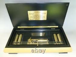 Rare Vintage Reuge Interchangeables Music Box 50 Notes 10 Chansons (videos Watch)