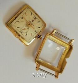 Rare Vintage Rolex Oyster Bubbleback Square Case, Ref 4643