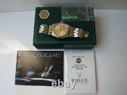 Rare Vintage Rolex Oyster Quartz 17013 Boîte / Papier Ensemble Complet! 1980