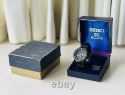 Rare Vintage Seiko 1978 Thon Doré 7549 7009 Quartz Watch, Original Strap & Box