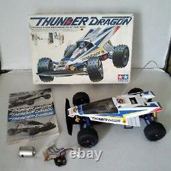 Rare Vintage Tamiya Thunder Dragon 4x4 (en Boîte)