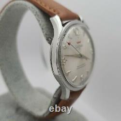 Rare Vintage Waltham 25jewels Homme Montre Automatique As 1712 Suisse 1960