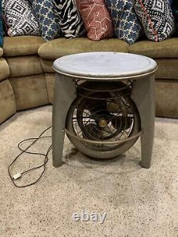 Rare Vornado Vintage Ventilateur Tabouret De Table Au Sol