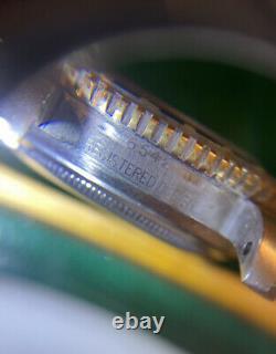 Rolex 1958 6542 Gmt Vintage Watch Box Et Papier Super Rare Avant 1675