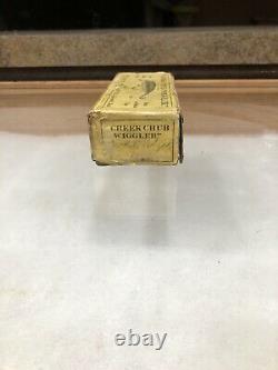 Scarce Creek Chub Intro Wiggler Box Rare Vintage Lure Box Fishing Bait Box