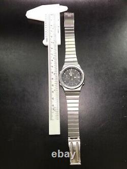 Seiko 7a38-701a Chronographe Quartzuhr Mit Box Quartz Sq Vintage Rare