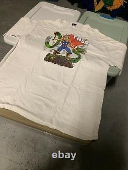 Stussy Marvel Thor Shirt XXL Box Logo Rare Vtg Hypebeast Streetwear