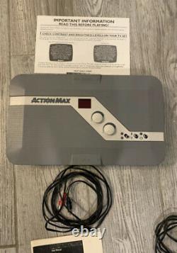 Système De Jeu Vidéo D'action Max Vhs Console Dans La Boîte D'origine Extrêmement Rare Vintage