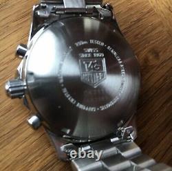Tag Heuer 2000 Chronographe Automatique Vintage. Cadran Bleu Rare Ck2111