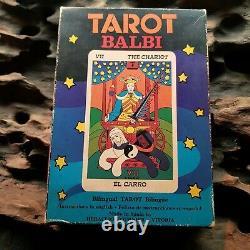 Tarot Balbi Vintage Rare Box Première Édition