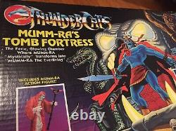 Thundercats Vintage Mumm-ras Tomb Fortress Playset Mib 80s Jouet Ultra Rare