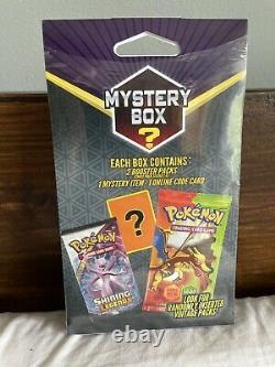USA Pokemon Walmart Mystery Box 14 Vintage Pack Usine Scellé 2 Booster Packs