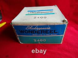 Un Vieux Magasin X-rare Stock Boxed Shakespeare Wondereel 2400 Spinning Reel