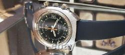V Rare Vintage Suisse Oris Chronoris Star Chronostop Watch + Box & Papers