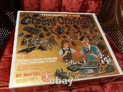 Vintage 1964 Original Creepy Crawlers Set Folk Box Ultra Rare Mattel Thingmaker