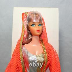 Vintage 1969 Barbie Doll Dramatic Living Copper/ Blue Eyes Rare In Mail Away Box